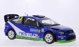 Modellauto - <strong>Ford</strong> Focus RS WRC08, No.12, M-Sport, Neste Oil, Rally Finnland, J.Kankkunen/J.Repo, 2010<br /><br />Sun Star, 1:18<br />Nr. 202011