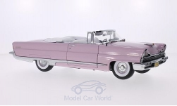 Modellauto - <strong>Lincoln</strong> Premiere Convertible, rosa, Verdeck geöffnet, 1956<br /><br />Sun Star, 1:18<br />Nr. 202025