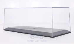 Modelcar - <strong>Vitrine</strong> plastic-showcase for each 1 x 1:18, Innenmaße (L/B/H) in mm: 321 / 143 / 102<br /><br />MCG, 1:18<br />No. 202035
