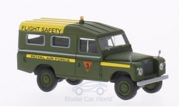 Modellauto - <strong>Land Rover</strong> 109 Provincie Station Wagon, RAF Flight Service (GB), dunkeloliv<br /><br />Brekina Starmada, 1:87<br />Nr. 202187