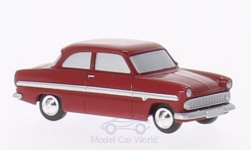 Modelcar - <strong>Ford</strong> 12m, dark red, The Halbstarken<br /><br />Brekina, 1:87<br />No. 202192