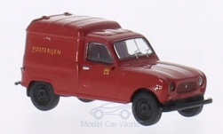 Modellauto - <strong>Renault</strong> R4 Fourgonnette, Posterijen (NL)<br /><br />Brekina, 1:87<br />Nr. 202196