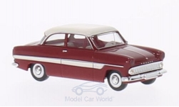 Modelcar - <strong>Ford</strong> 12m, dark red/white<br /><br />Brekina, 1:87<br />No. 202203
