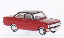 Modelcar - <strong>Opel</strong> Kadett A Coupe red/black<br /><br />Brekina Drummer, 1:87<br />No. 202206