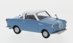 voiture miniature - <strong>Goggomobil</strong> Coupe, bleu/blanche<br /><br />Brekina, 1:87<br />N° 202213