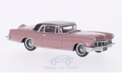 Modellauto - <strong>Lincoln</strong> Continental MKII rosa/dunkelrosa, 1956<br /><br />Oxford, 1:87<br />Nr. 202414