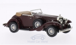 Modelcar - <strong>Stutz</strong> DV-32 Weyman super Bearcat Roadster, dark red, 1933<br /><br />Brooklin, 1:43<br />No. 202518