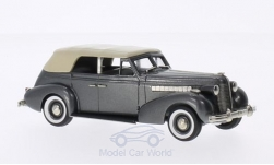 Modellauto - <strong>Buick</strong> Special 4-door Phaeton M-40C, metallic-dunkelgrau/beige, 1938<br /><br />Brooklin, 1:43<br />Nr. 202634