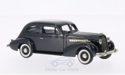 Modellauto - <strong>Buick</strong> Special 2-DR Plain Back 4-door Sedan M-44, metallic-dunkelgrau, 1937<br /><br />Brooklin, 1:43<br />Nr. 202639