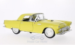 ModelCar - <strong>Ford</strong> Thunderbird, gelb, 1955<br /><br />Lucky Die Cast, 1:18<br />No. 202808