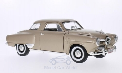 ModelCar - <strong>Studebaker</strong> Champion, metallic-beige, 1950<br /><br />Lucky Die Cast, 1:18<br />No. 202819