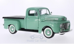 ModelCar - <strong>Ford</strong> F-1 Pick Up With Flatbed Cover, hellgrün, 1948<br /><br />Lucky Die Cast, 1:18<br />No. 202823