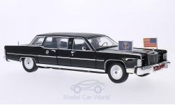 Modellauto - <strong>Lincoln</strong> Continental Reagan Car, schwarz, 1972<br /><br />Lucky Die Cast, 1:24<br />Nr. 202842