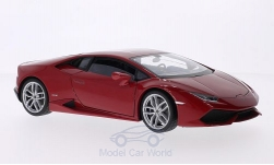 Modelcar - <strong>Lamborghini</strong> Huracan LP 610-4, metallic-red, 2014<br /><br />Welly, 1:18<br />No. 203049
