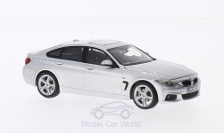 ModelCar - <strong>BMW</strong> 4er Gran Coupe, silber<br /><br />I-Kyosho, 1:43<br />No. 203139