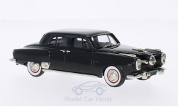Modellauto - <strong>Studebaker</strong> Land Cruiser, 4-door Sedan, schwarz, 1950<br /><br />Brooklin, 1:43<br />Nr. 203186