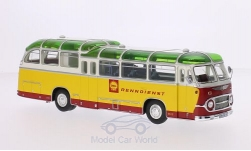 Modellino - <strong>Neoplan</strong> FH 11, Shell servizio corse<br /><br />Schuco / Pro.R, 1:43<br />n. 203518