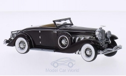 Modellauto - <strong>Duesenberg</strong> SJN Convertible Coupe, dunkelrot, First Class Collection, 1936<br /><br />Minichamps, 1:43<br />Nr. 203992