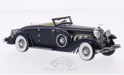 Modellauto - <strong>Duesenberg</strong> SJN Convertible Coupe, dunkelblau, First Class Collection, 1936<br /><br />Minichamps, 1:43<br />Nr. 203994