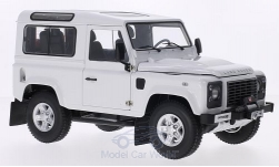 Modelcar - <strong>Land Rover</strong> Defender 90, white<br /><br />Kyosho, 1:18<br />No. 204154