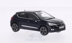Modellauto - <strong>Citroen</strong> DS 4, metallic-donkerblauw, 2015<br /><br />Norev, 1:43<br />Nr. 204189