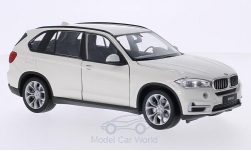 Modelcar - <strong>BMW</strong> X5 (F15), white<br /><br />Welly, 1:24<br />No. 204536