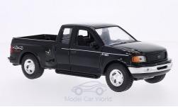 Modellauto - <strong>Ford</strong> F-150 Flareside Supercab, schwarz, 1999<br /><br />Welly, 1:24<br />Nr. 204673