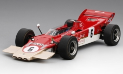 Modelo de coche - <strong>Lotus</strong> 56B, No.6, equibo Lotus, Gold Leaf,  Race of Champions, E.Fittipaldi, 1971<br /><br />TrueScale Miniatures, 1:18<br />Nº 204689