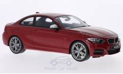 Modelcar - <strong>BMW</strong> M235i (F22), metallic-red, doors and hoods closed<br /><br />GT Spirit, 1:18<br />No. 204959