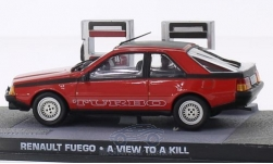 Modellauto - <strong>Renault</strong> Fuego, rot/schwarz, James Bond 007, Im Angesicht des Todes<br /><br />SpecialC.-007, 1:43<br />Nr. 205063