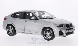 Modellauto - <strong>BMW</strong> X4 (F26), silber, 2015<br /><br />I-Paragon, 1:18<br />Nr. 205251