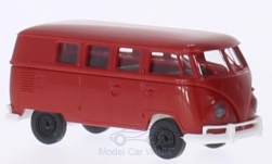 Modellauto - <strong>VW</strong> T1b, rot/weiss, Kombi<br /><br />Brekina, 1:87<br />Nr. 205668