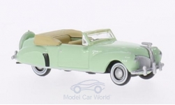 Modellauto - <strong>Lincoln</strong> Continental, hellgrün, 1941<br /><br />Oxford, 1:87<br />Nr. 205999