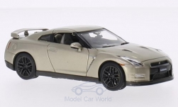 Modellauto - <strong>Nissan</strong> GT-R (R35) 45th Anniversary Gold Edition, gold, RHD, 2015<br /><br />Premium X, 1:43<br />Nr. 206103