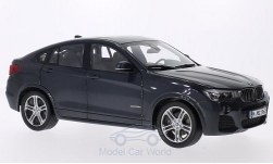 Modellauto - <strong>BMW</strong> X4 (F26), metallic-dunkelgrau, 2015<br /><br />I-Paragon, 1:18<br />Nr. 206705