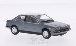 Modellino - <strong>Maserati</strong> Biturbo, metallic-grigio<br /><br />WhiteBox, 1:43<br />n. 207366