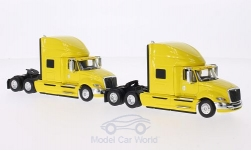 Modellauto - <strong>International</strong> ProStar+, gelb, 2er-Set<br /><br />First Gear, 1:64<br />Nr. 207828