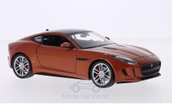 Modelcar - <strong>Jaguar</strong> F-Type Coupe, copper/black<br /><br />Welly, 1:24<br />No. 207998