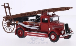 Modelcar - <strong>Dennis</strong> Light Four, RHD, Oakham & Uppingham Districts Joint Fire Briga, 1938<br /><br />Lucky Die Cast, 1:43<br />No. 208476