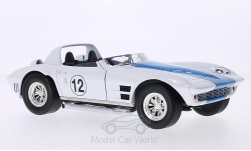 ModelCar - <strong>Chevrolet</strong> Corvette Grand Sport Roadster, No.12, 1964<br /><br />Lucky Die Cast, 1:18<br />No. 208493