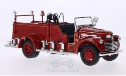 Modellauto - <strong>GMC</strong> Firetruck, rot, inklusive Zubehör, 1941<br /><br />Lucky Die Cast, 1:24<br />Nr. 208501