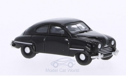 Modellauto - <strong>Saab</strong> 92B, schwarz, 1953<br /><br />BoS-Models, 1:87<br />Nr. 208675