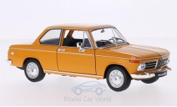 Modelcar - <strong>BMW</strong> 2002 Ti, orange, 1968<br /><br />Welly, 1:24<br />No. 209565