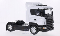 Modelcar - <strong>Scania</strong> R470, white<br /><br />Welly, 1:32<br />No. 209732