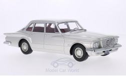 Modelcar - <strong>Plymouth</strong> Valiant 4-Door Sedan, silver, 1960<br /><br />BoS-Models, 1:18<br />No. 209743