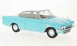 Modelcar - <strong>Ford</strong> Consul Capri 116E GT, turquoise/white, RHD, 1963<br /><br />BoS-Models, 1:18<br />No. 209744