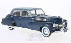 Modelcar - <strong>Cadillac</strong> Fleetwood series 60 Special Sedan, metallic-dark blue/metallic-light blue, 1941<br /><br />MCG, 1:18<br />No. 209984