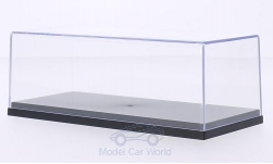 Modelcar - <strong>Vitrine</strong> plastic-showcase for each 1 x 1:43, Innenmaße (L/B/H) in mm: 158 / 68 / 47<br /><br />MCG, 1:43<br />No. 209985