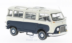 Modelcar - <strong>Ford</strong> Taunus Transit, dark blue/white, Panoramabus, 1962<br /><br />Neo, 1:43<br />No. 210272