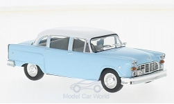 Modelcar - <strong>Checker</strong> Marathon 327, light blue/white, 1964<br /><br />WhiteBox, 1:43<br />No. 210276